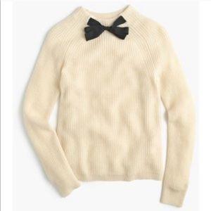 J.Crew Bow Sweater